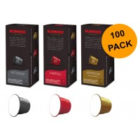 Nespresso compatible pods by KIMBO - 100 pack