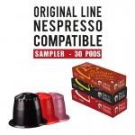 30 Nespresso compatible Capsules bundle Delicitaly line