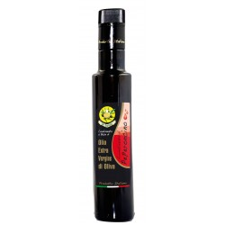 Chili Pepper flavored Extra Virgin Olive oil - 8.45 fl. oz - USDA ORGANIC