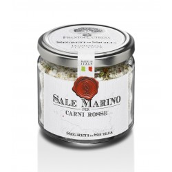 Trapani Sea Salt for Red Meat Barbecues - 7.1 oz