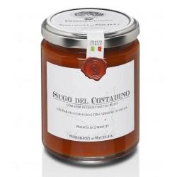Farmer flavored tomato sauce - Traditional Sicilian Recipe - 10.23 oz