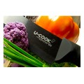 U-COOK Katana series: black ceramic knives set