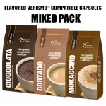 Caffitaly® compatible pods - 36 Flavored drinks
