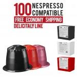100 Capsules bundle Delicitaly line