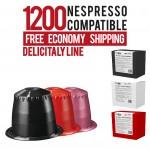1,200 Capsules bundle Delicitaly pods