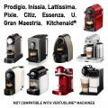 1,200 Nespresso Capsules bundle Delicitaly pods