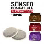 Senseo compatible pods - 180 pads