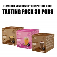 30 Flavored Drinks Nespresso pods